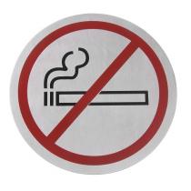 Табличка информационная самоклеящаяся Не курить