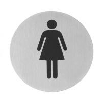 Табличка информационная самоклеящаяся Для женщин