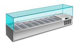 Холодильна вітрина на 8 гастроємностей