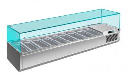 Холодильна вітрина на 9 гастроємностей