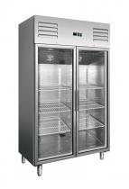 Холодильна шафа зі скляними дверима 1400 л