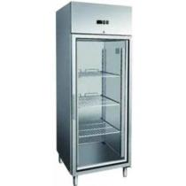 Холодильна шафа зі скляними дверима