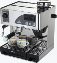Кофемашина ріжкова однопостова з вбудованою кавомолкою
