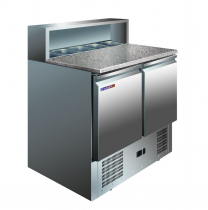 Холодильний стіл для піци 288 л