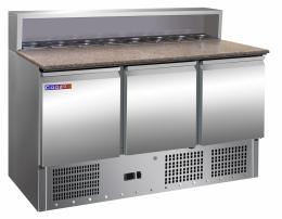 Холодильний стіл для піци 400 л