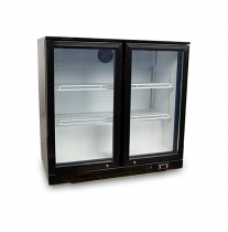 Холодильник барний з двома дверима