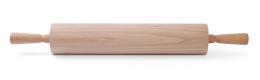 Скалка для тіста на підшипниках - дерев'яна
