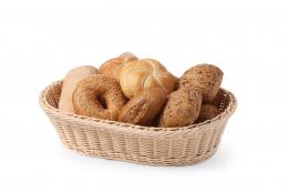 Кошик для хліба і булочок овальна