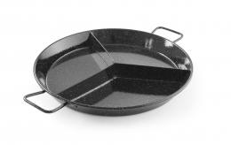 Емальована сковорода для паельї - 3 відсіка