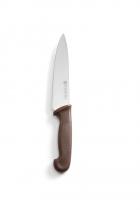 Ніж HACCP кухарський коричневий 240 мм