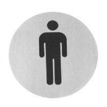 Табличка информационная самоклеящаяся Для мужчин