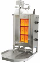 Апарат для шаурми газовий з електроприводом до 40 кг м'яса