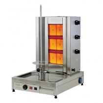 Апарат для шаурми газовий з електроприводом до 50 кг м'яса