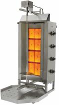 Апарат для шаурми газовий з електроприводом до 80 кг м'яса