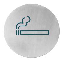 Табличка информационная самоклеящаяся Место для курения